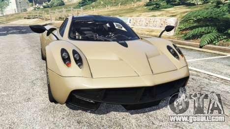Pagani Huayra 2013 v1.1 [black rims] for GTA 5