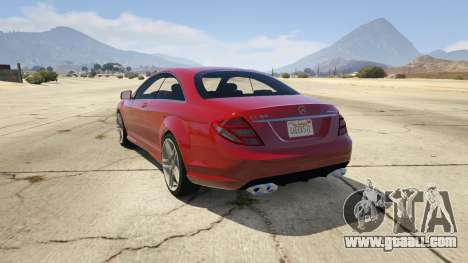 GTA 5 Mercedes-Benz E63 AMG v2.1 rear left side view