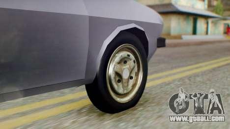 Dacia 1310 v2 for GTA San Andreas back left view