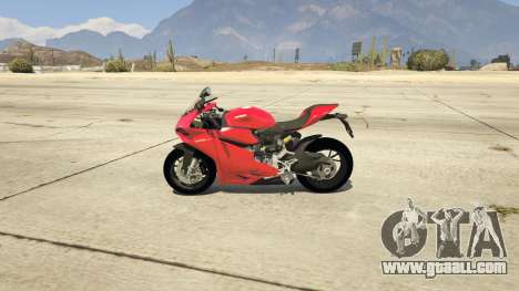 GTA 5 Ducati 1299 Panigale S v1.1 left side view