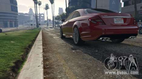 GTA 5 Mercedes-Benz E63 AMG v2.1 back view