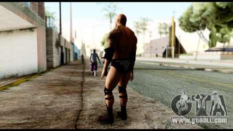 WWE The Rock for GTA San Andreas third screenshot