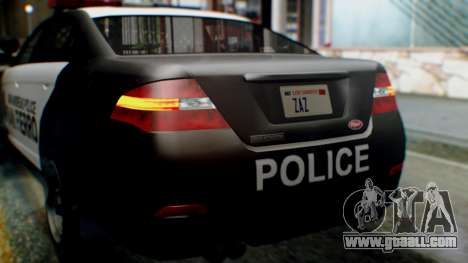 GTA 5 Police SF for GTA San Andreas side view