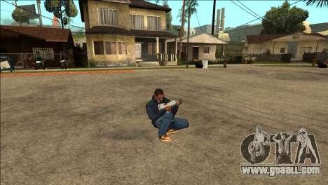 Additional animation TEC-9 for GTA San Andreas third screenshot
