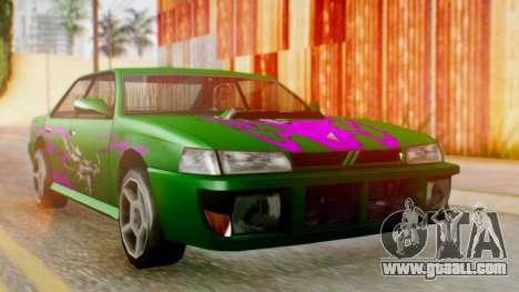 Sultan Винил из Need For Speed Underground 2 for GTA San Andreas