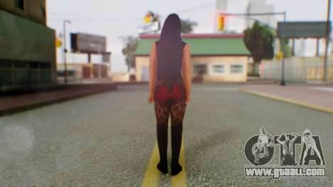 WWE Aksana for GTA San Andreas third screenshot