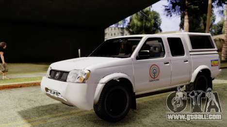 Nissan Frontier ABS CBN for GTA San Andreas