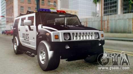 New Police Ranger for GTA San Andreas