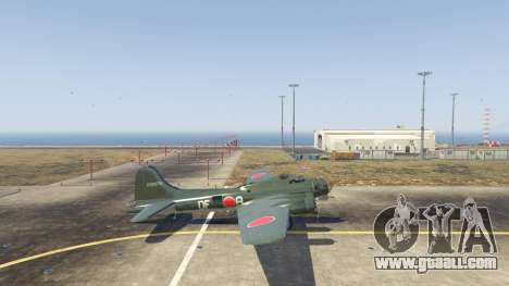 GTA 5 Boeing B-17 Flying Fortress second screenshot