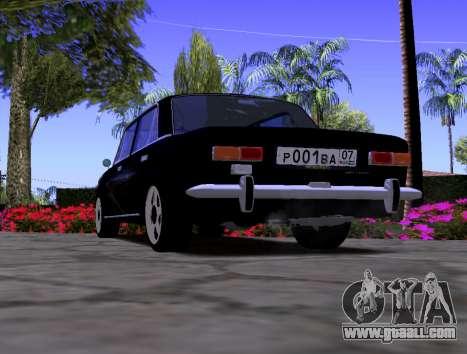 VAZ 2101 KBR for GTA San Andreas back left view