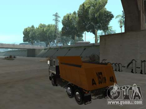 MAZ 551605-221-024 for GTA San Andreas left view