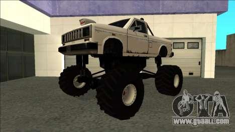 Bobcat Monster Truck for GTA San Andreas