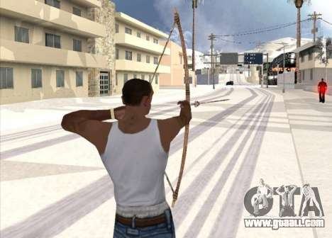 Archery for GTA San Andreas second screenshot