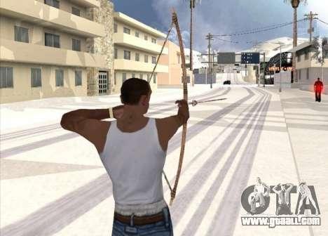 Archery for GTA San Andreas second screenshot