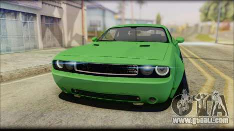 Dodge Challenger LB Perfomance for GTA San Andreas right view