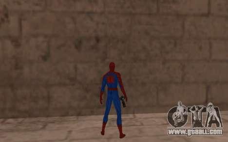 Amazing Spider-Man Comic Version by Robinosuke for GTA San Andreas forth screenshot