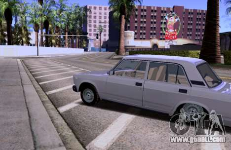 VAZ 2105 KBR for GTA San Andreas left view