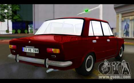 Fiat 124 for GTA San Andreas left view