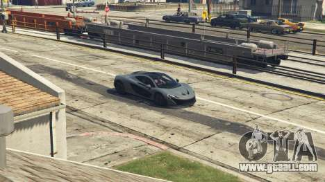 GTA 5 2014 McLaren P1 v2.0 right side view