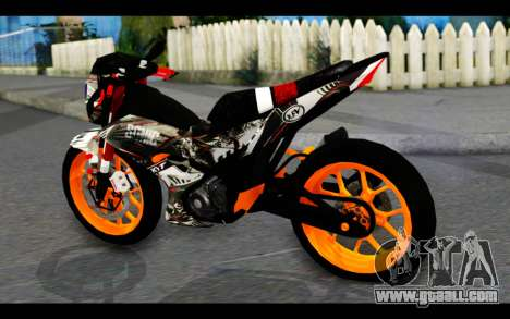 Honda Sonic 150R Custom for GTA San Andreas left view
