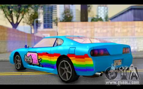 Jester PJ of Nyan Cat for GTA San Andreas left view