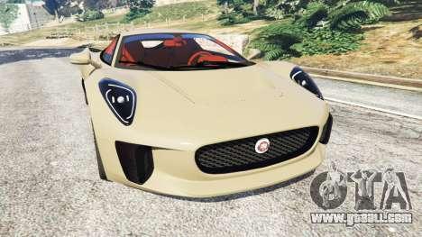 Jaguar C-X75 for GTA 5