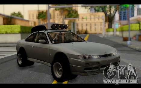 Nissan Silvia S14 Rusty Rebel for GTA San Andreas