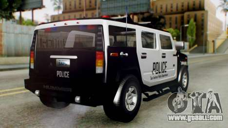 New Police Ranger for GTA San Andreas left view