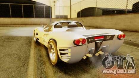 Ferrari P7 Spyder for GTA San Andreas left view
