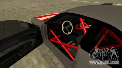 Nissan Silvia S14 Drift JDM for GTA San Andreas upper view