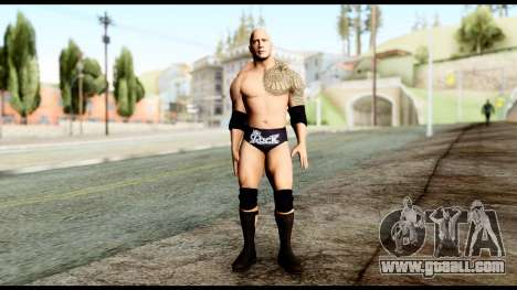 WWE The Rock for GTA San Andreas second screenshot