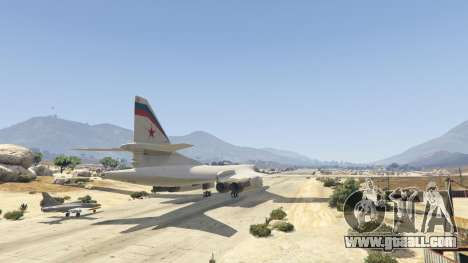 GTA 5 Tu-160 White Swan third screenshot