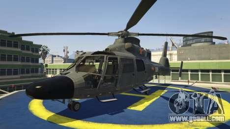 GTA 5 Harbin Z-9