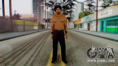 Jinder Mahal 1 for GTA San Andreas second screenshot