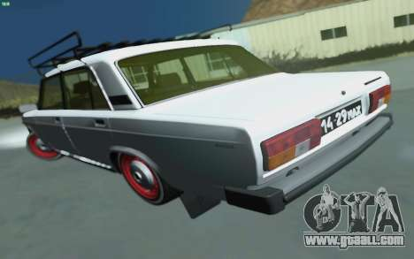 VAZ 2105 for GTA San Andreas for GTA San Andreas left view