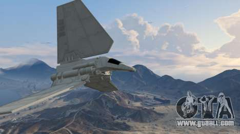 GTA 5 Star Wars: Imperial Shuttle Tydirium fourth screenshot