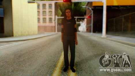 Stephani WWE for GTA San Andreas second screenshot
