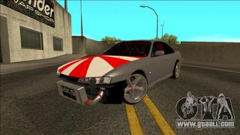 Nissan Silvia S14 Drift JDM for GTA San Andreas right view