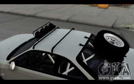 Nissan Silvia S14 Rusty Rebel for GTA San Andreas inner view