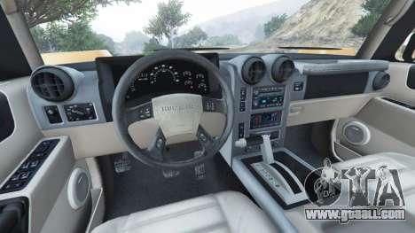 Hummer H2 2005 for GTA 5
