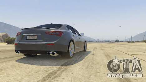 Maserati Ghibli S for GTA 5