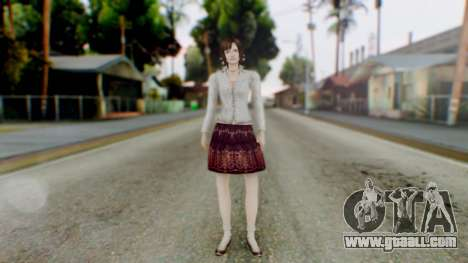 Fatal Frame 4 Madoka for GTA San Andreas second screenshot