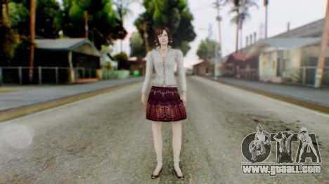 Fatal Frame 4 Madoka for GTA San Andreas second screenshot