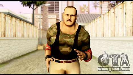 WWE Sgt Slaughter 2 for GTA San Andreas