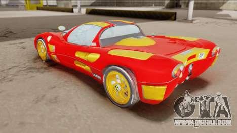 Ferrari P7-2 Iron Man for GTA San Andreas back left view