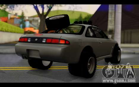 Nissan Silvia S14 Rusty Rebel for GTA San Andreas left view