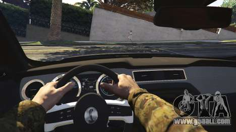 GTA 5 2013 Ford Mustang Shelby GT500 rear right side view