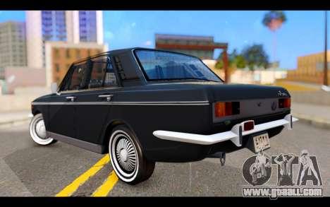 Peykan 1347 Classic for GTA San Andreas left view