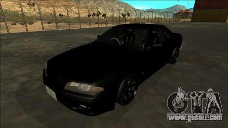 Nissan Skyline R32 Drift for GTA San Andreas engine