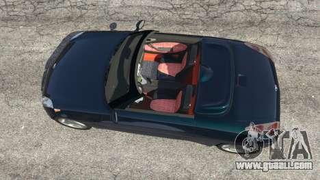 GTA 5 Daewoo Joyster Concept 1997 v1.4 back view